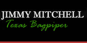 North Texas Bagpiper Jimmy Mitchell